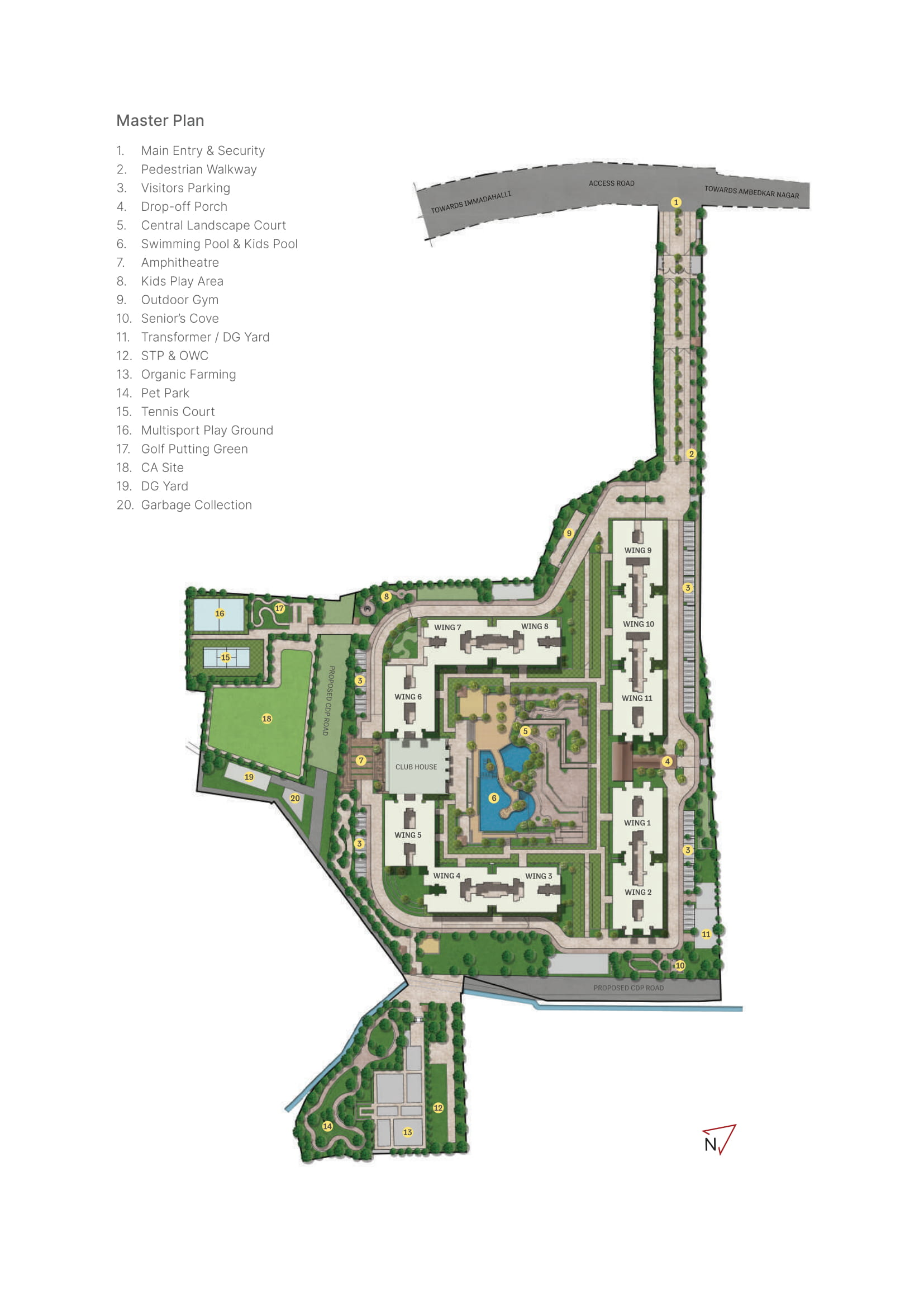 Sobha Windsor Floor Plan